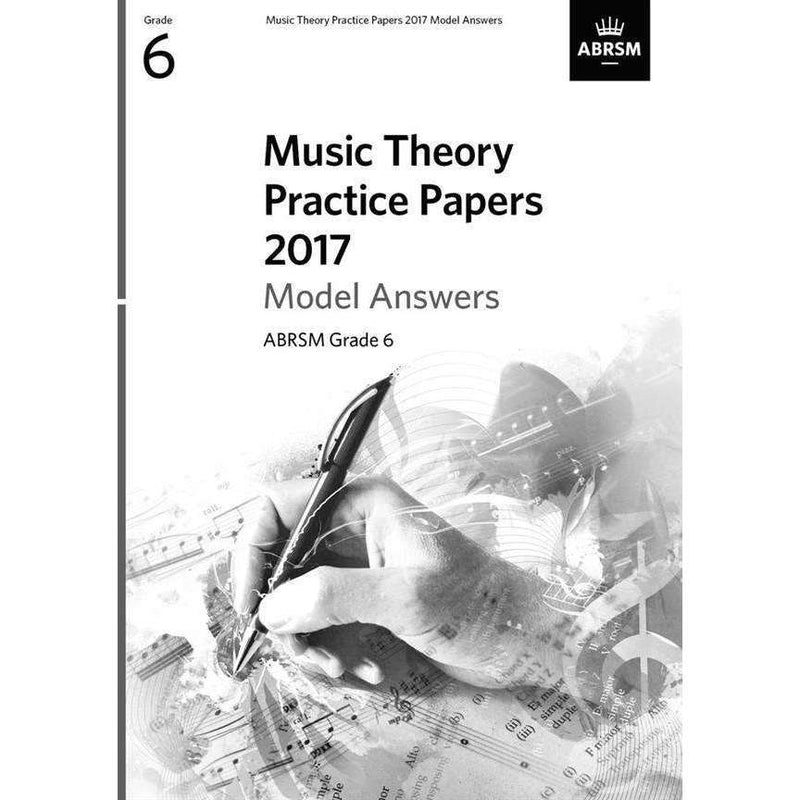 ABRSM Music Theory Past Paper Model Answers Grade 6