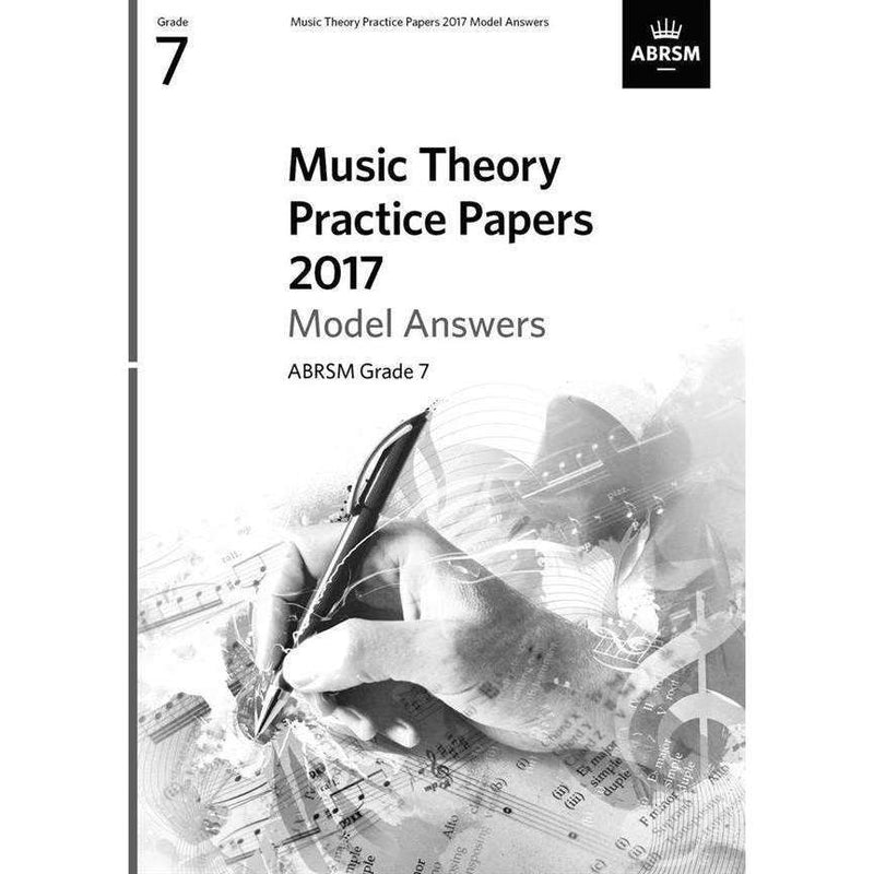 ABRSM Music Theory Past Paper Model Answers Grade 7