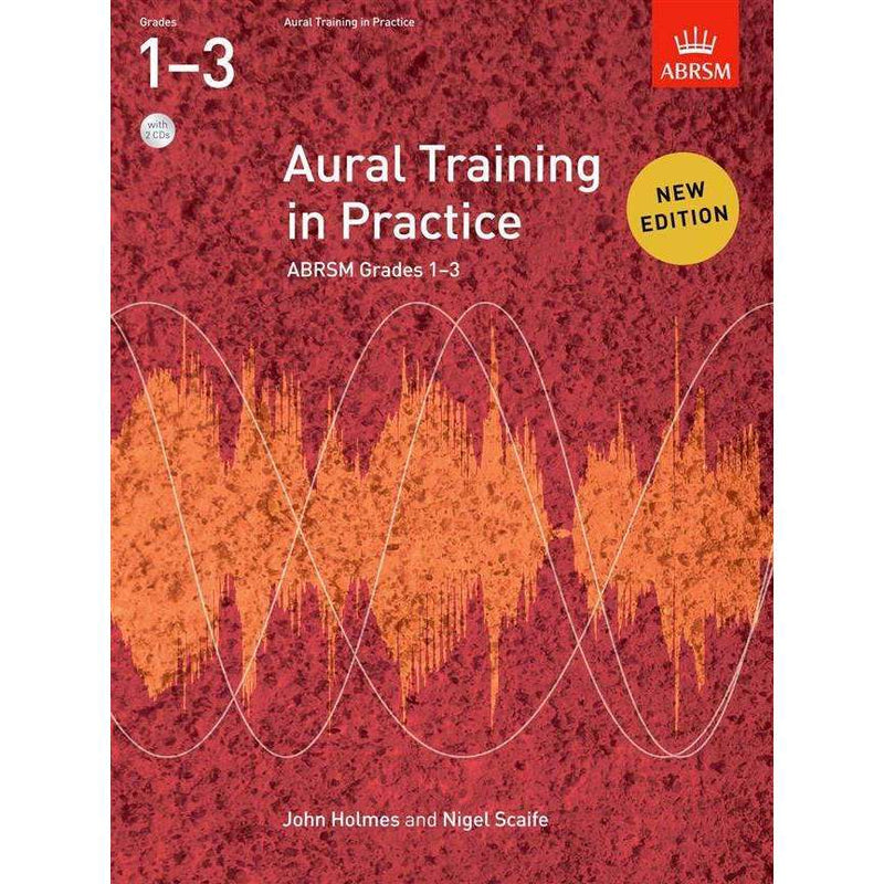 ABRSM Aural Training in Practice Grades 1 to 3 including CDs
