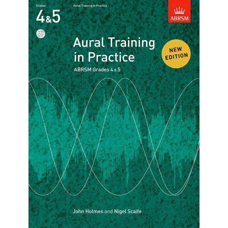 ABRSM Aural Training in Practice Grades 4 & 5 including CDs