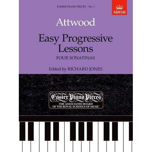 ABRSM: Easy Progressive Lessons - Attwood