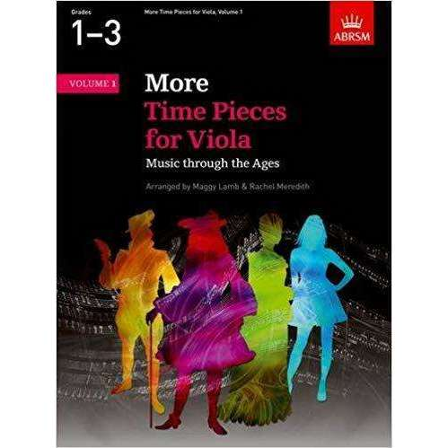 ABRSM More Time Pieces for Viola: Music through the ages
