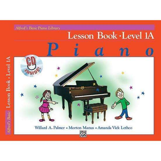Alfred's Basic Piano Library - Lesson Book Series