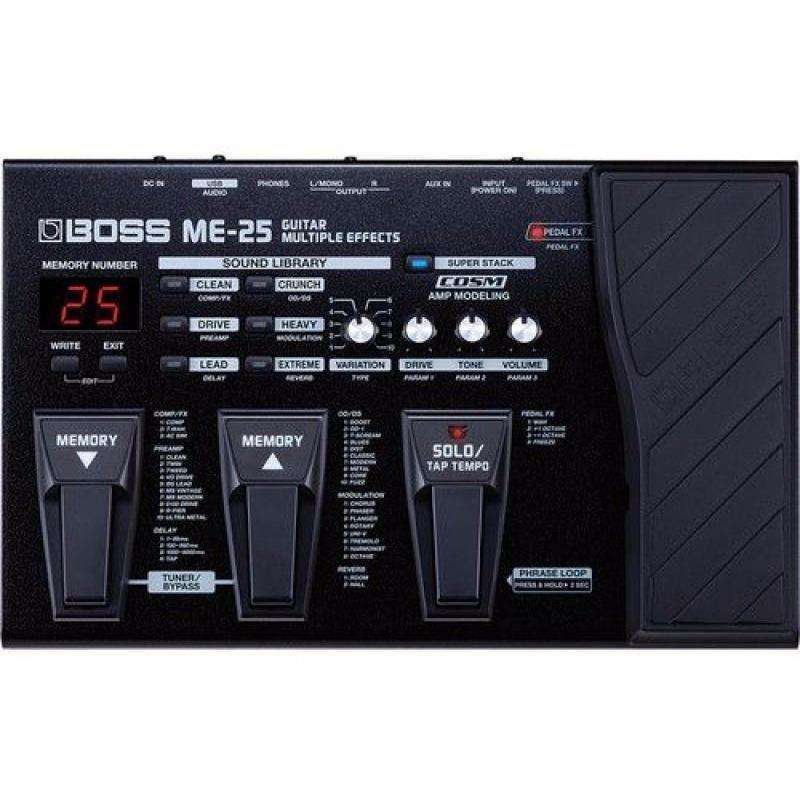 BOSS ME-25 Multi Effects Pedal