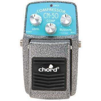 Chord CM-50 Compressor Guitar Effects Pedal