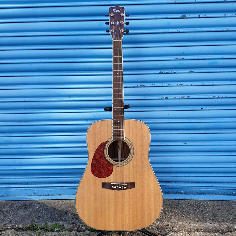 Cort Earth 200 Solid Top Left Handed Acoustic Guitar