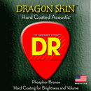 DR Strings Dragon Skin Acoustic Lite 2 Pk