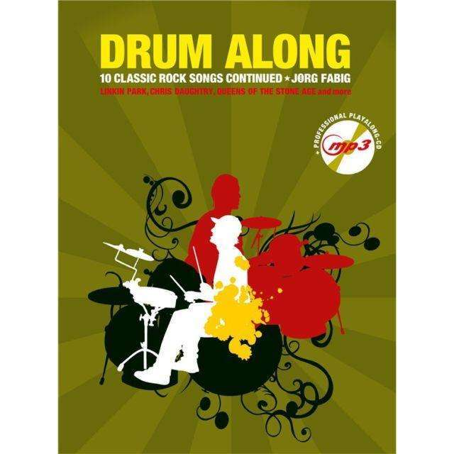 Drum Along '10 Classic Rock Songs Continued' (incl. CD)