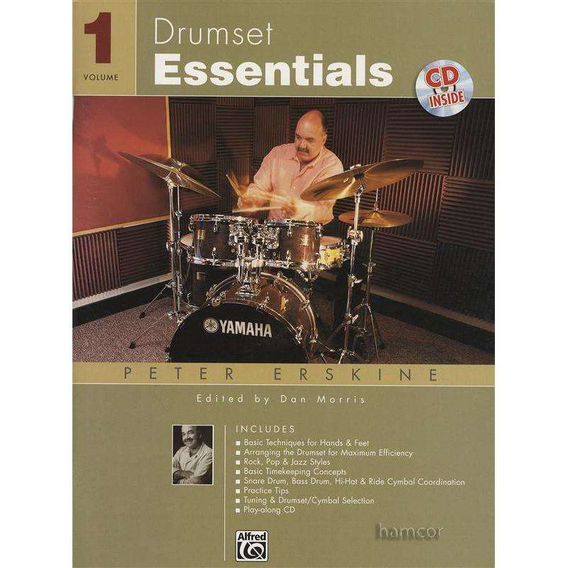 Drumset Essentials Vol. 1 (incl. CD)