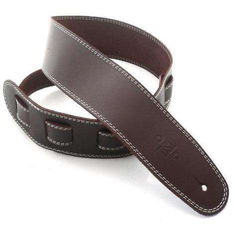 "DSL 2.5"" soft leather guitar strap"