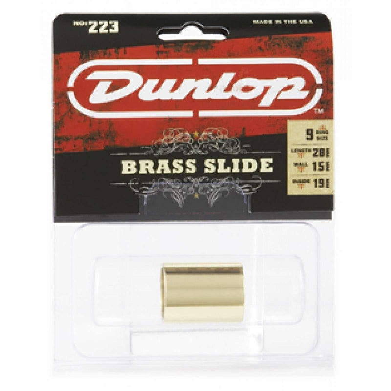 Dunlop Brass Slide 223K Medium Wall Thickness - Medium Knuckle
