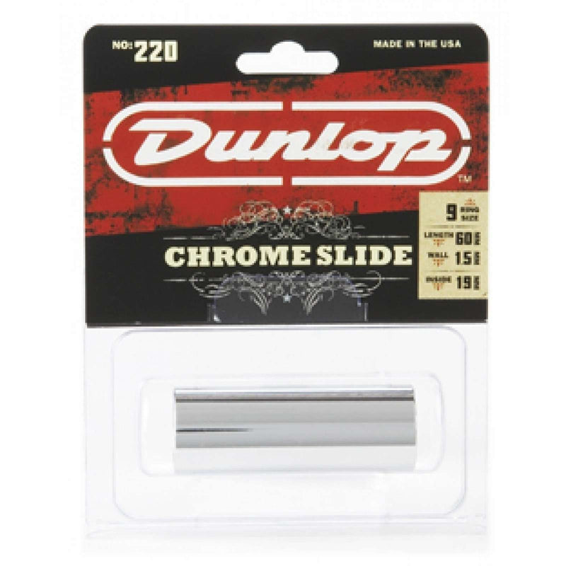 Dunlop Chrome Slide 220 Medium Wall Thickness - Medium