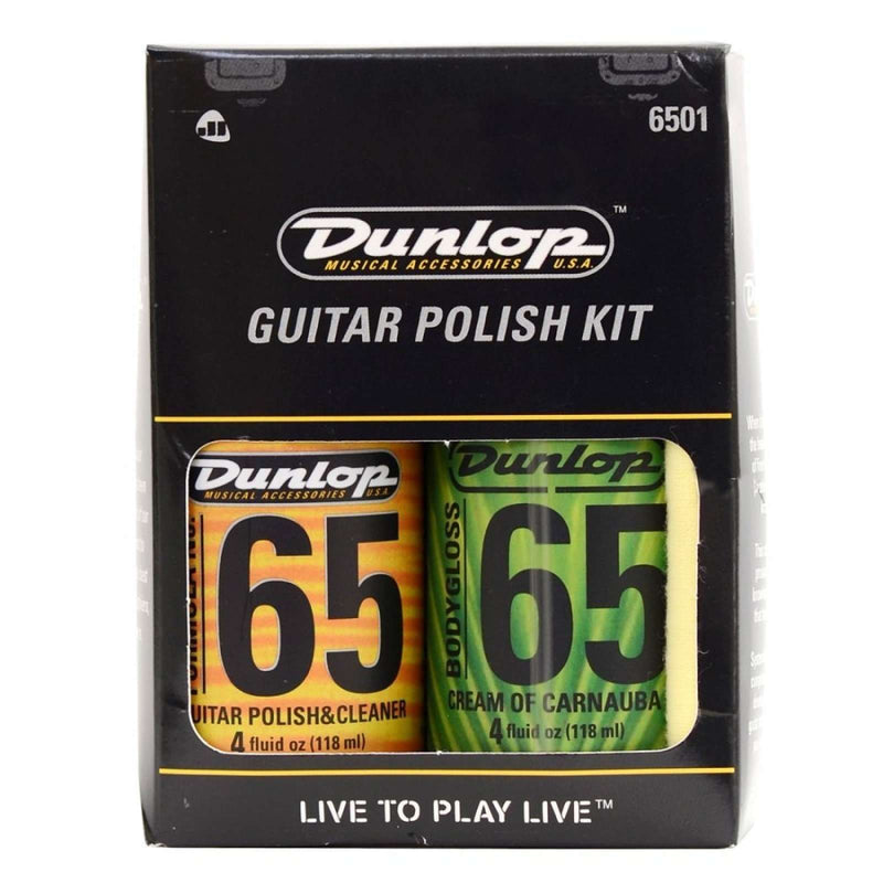 Dunlop Formula 65 Wood Care Kit Plucked Instrument Care and Maintenance 6501