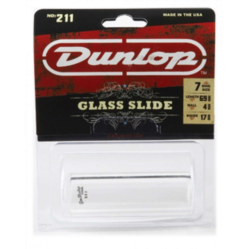 Dunlop Glass Slide 211S Heavy Wall Thickness - Small
