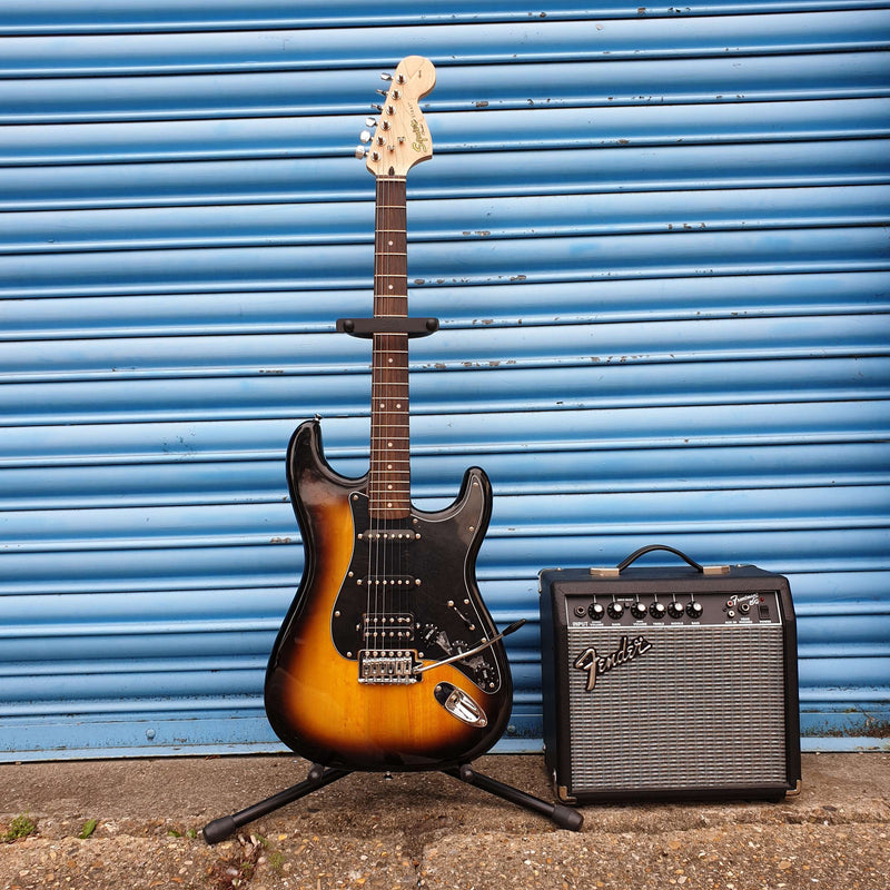 Fender Squier Affinity Stratocaster (HSS) Electric Guitar Pack