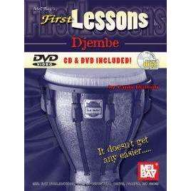 First Lessons: Djembe (incl. CD & DVD)