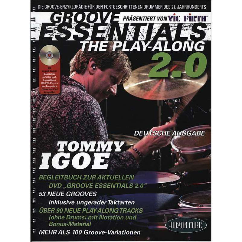 Groove Essentials 'The Play-Along 2.0' (incl. CD)