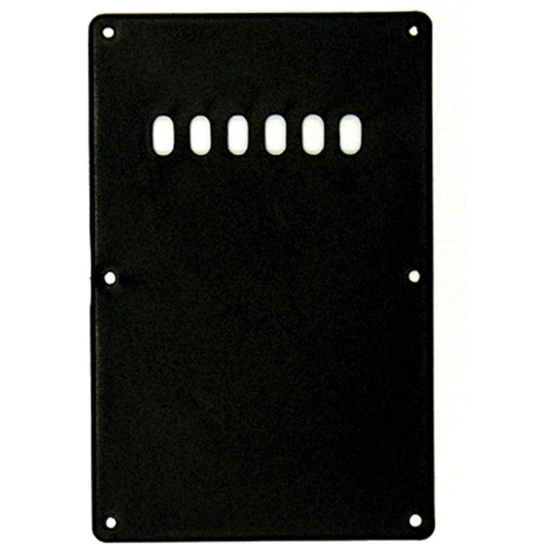 Guitar Tech Backplate Cover.  GT566 Black