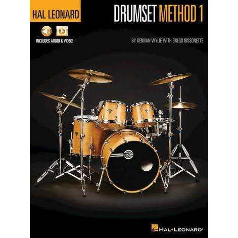 Hal Leonard Drumset Method 1 (incl. Audio & Video)