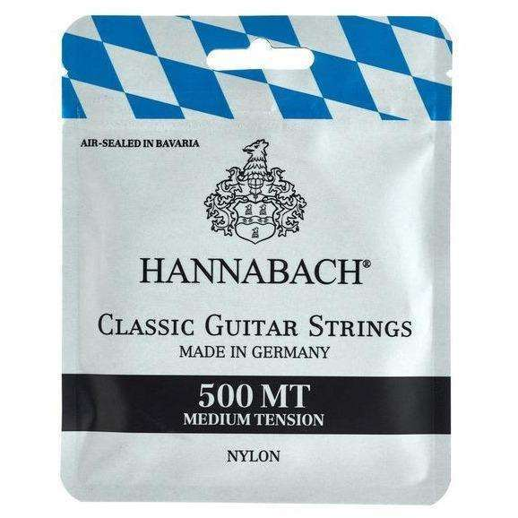 Hannabach Classical Guitar String Set (Medium Tension)