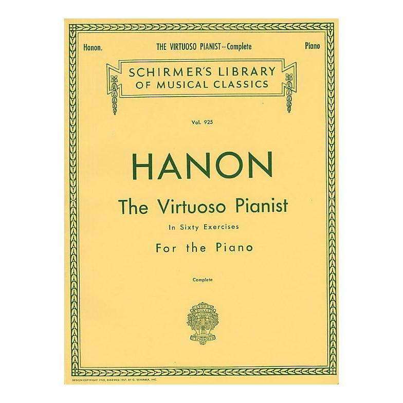 Hanon 'The Virtuoso Pianist' in Sixty Excercises