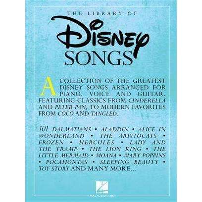 Library of Disney Songs