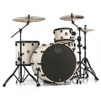 Mapex Mars 2416 Big Beat Drum Kit With Black Hardware Bonewood MA446SBAW-PK