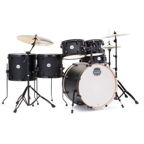 Mapex Storm 6 piece drum kit including hardware & Paiste 101 cymbals