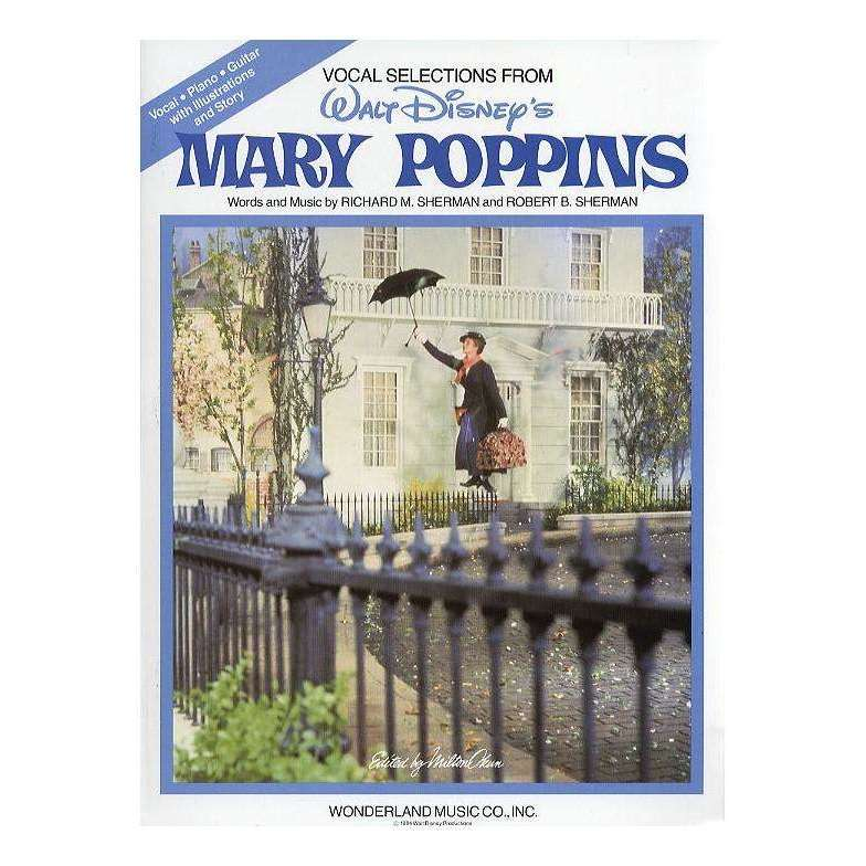 Mary Poppins song selection