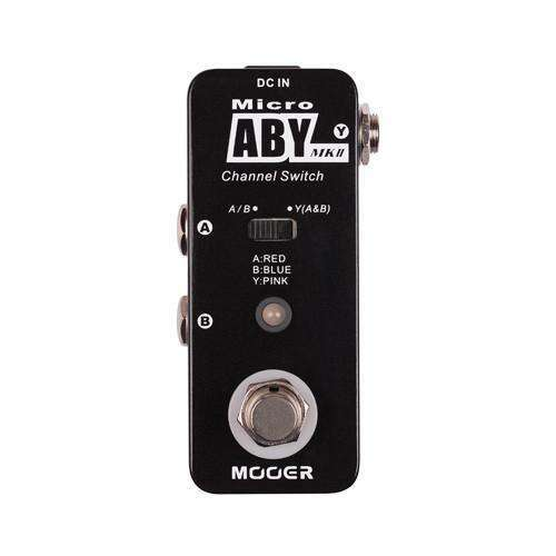 Mooer Micro 'ABY MK II' Channel Switch Pedal