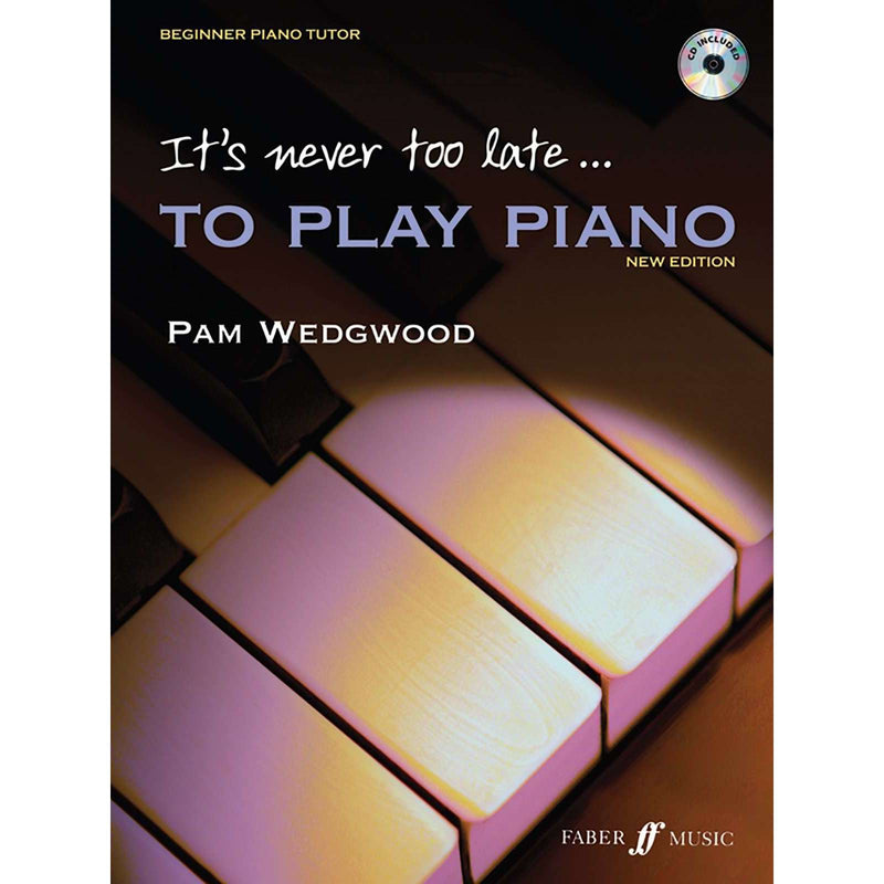 "Pam Wedgwood: It's Never too Late... ""to Play Piano"""
