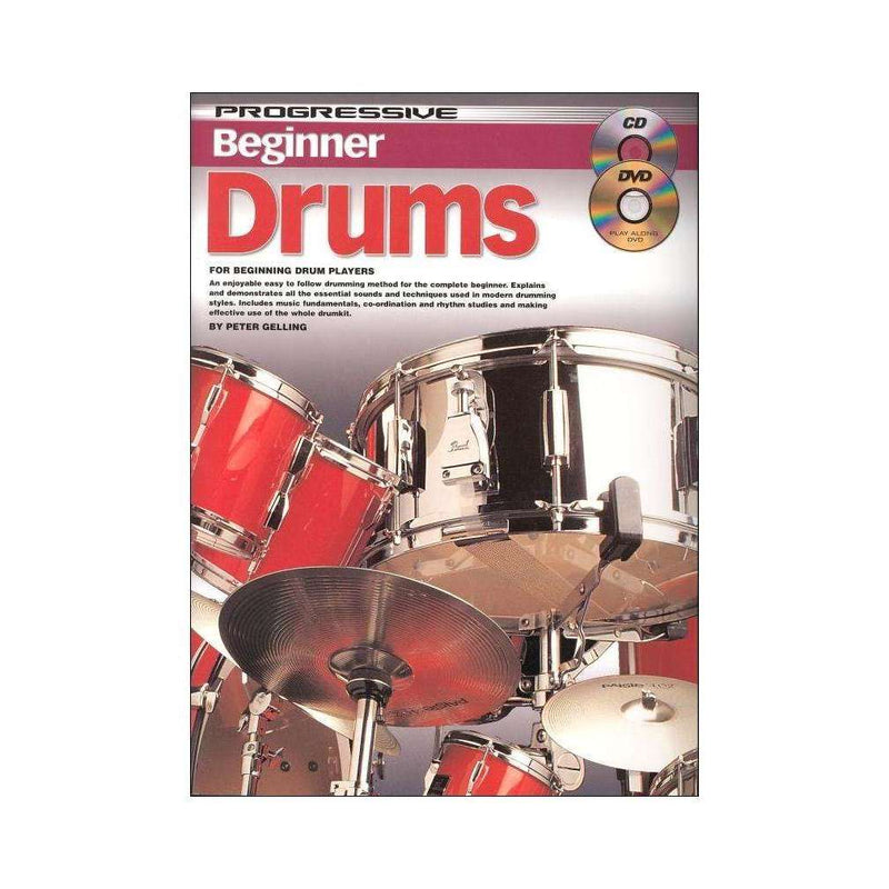 Progressive 'Beginner' Drums (incl. CD & DVD)