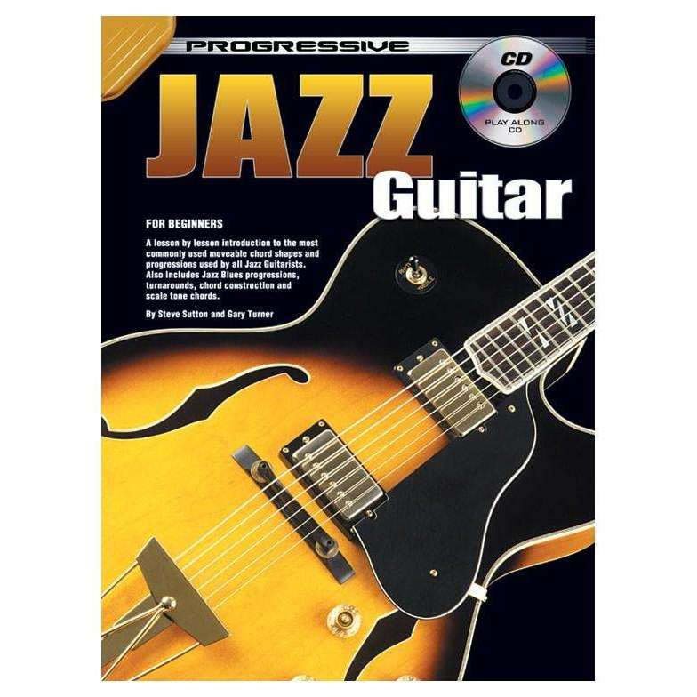 Progressive Jazz Guitar (incl. CD)
