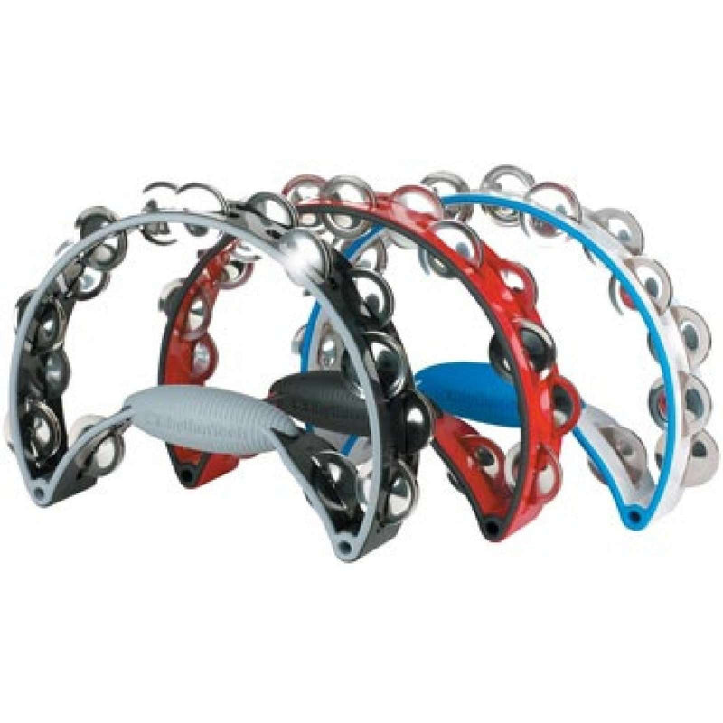 Rhythm Tech BRASS JINGLES Tambourine RTPRO21 WHITE/BLUE