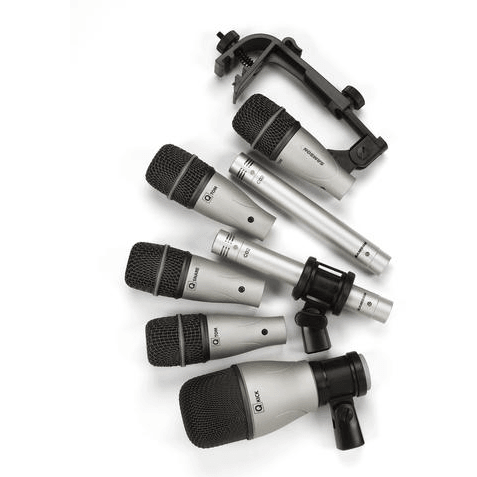 Samson's 7Kit 7-Piece Drum Mic Set