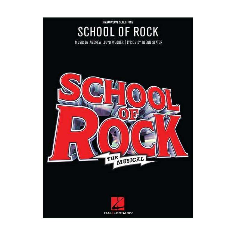 School of Rock: The Musical song selection