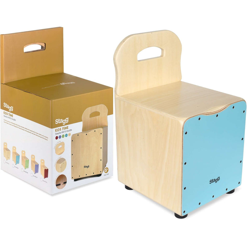 Stagg Basswood kid's cajón with EasyGo backrest