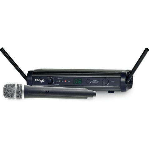 Stagg SUW 35 MSEU1/UK UHF Wireless Handheld Microphone System
