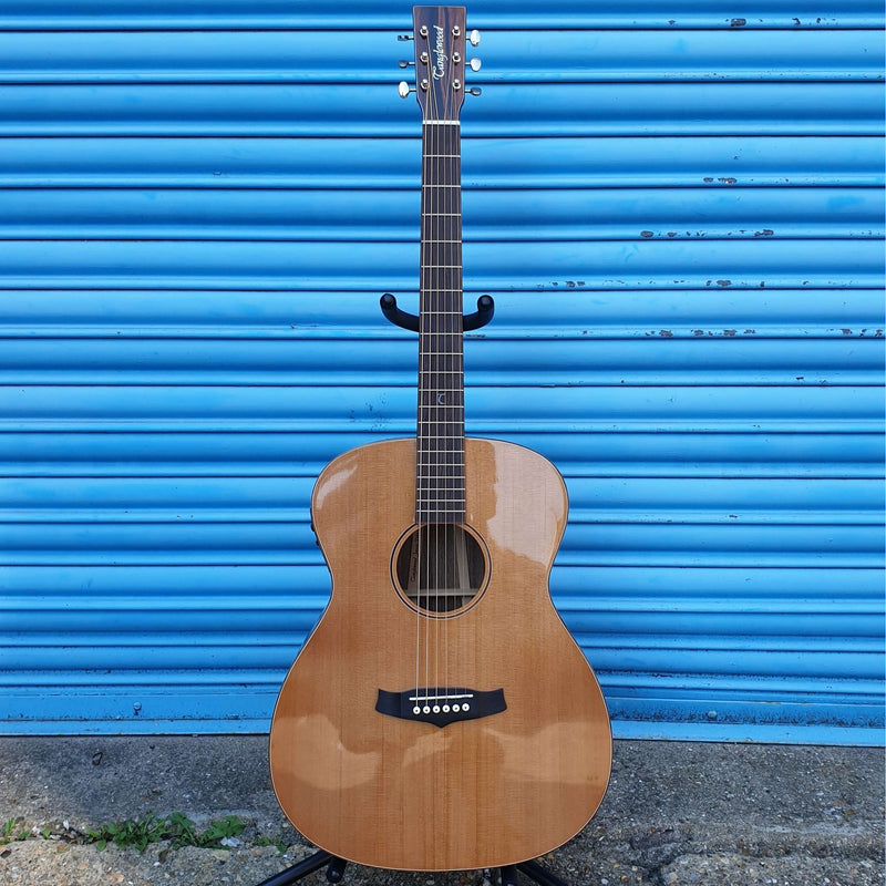 Tanglewood TWJFE Solid Cedar Electro Acoustic Guitar