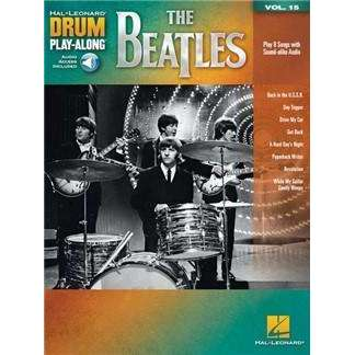 The Beatles Drum Play-along (incl. Audio)