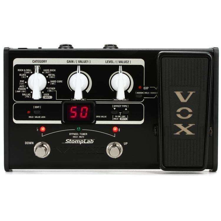 Vox StompLab IIG: Modeling Effects Processor for Guitar