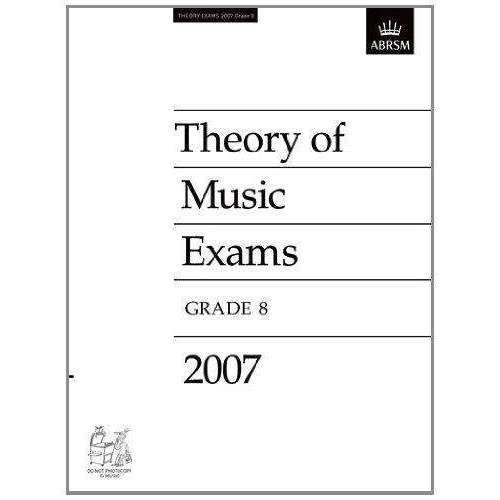 ABRSM Theory Past Exams 2007