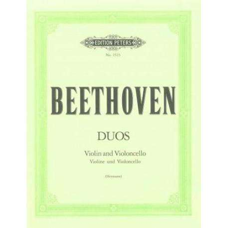 Beethoven: Duos (for Violin and Violoncello)