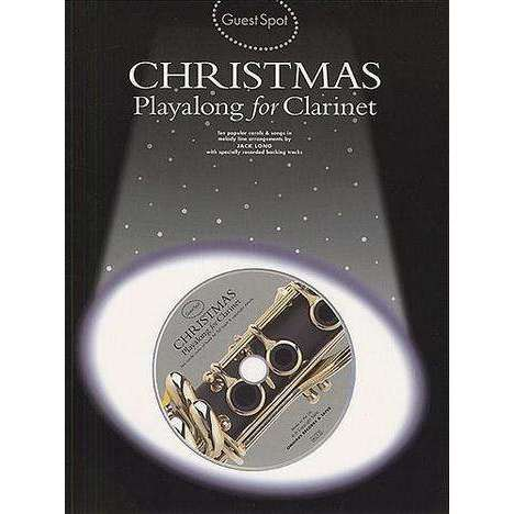 Christmas Playalong for Clarinet