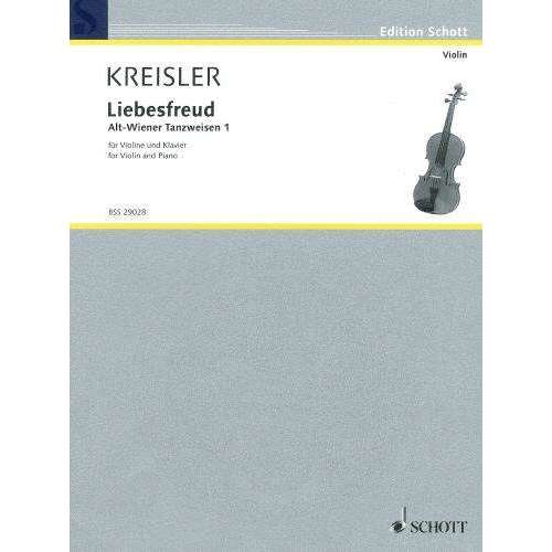 Kreisler: Liebsfreud (for Violin and Piano)