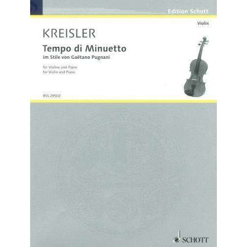 Kreisler: Tempo di Minuetto (for Violin and Piano)