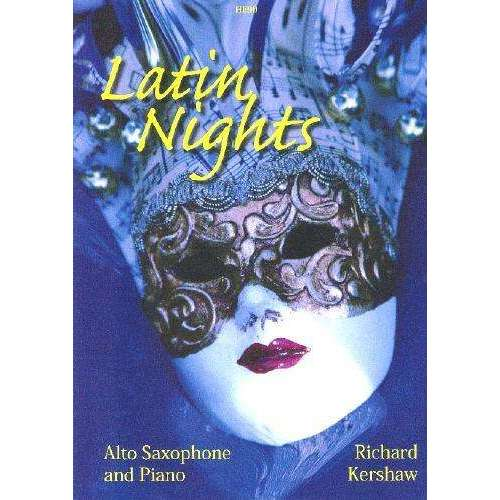 Latin Nights for Alto Saxophone and Piano