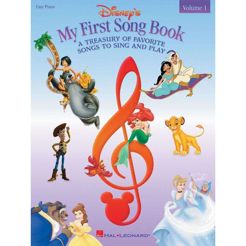 My First Disney Song Book - Easy Piano