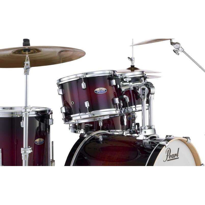 Pearl Decade Maple 5 piece drum kit including hardware
