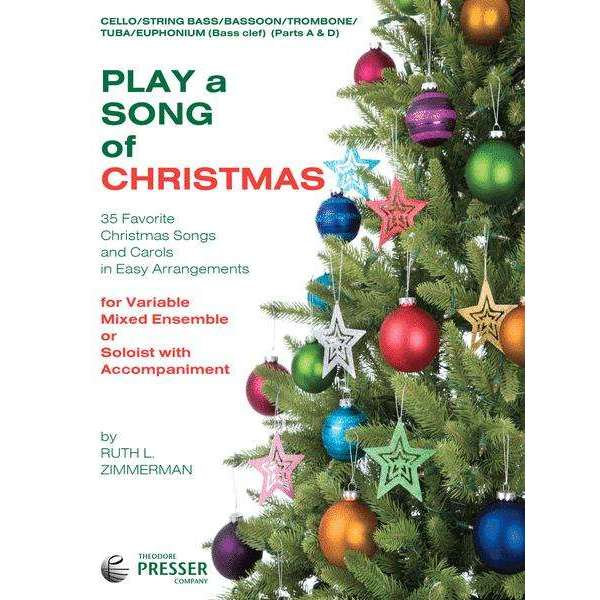 Play A Song of Christmas (for Bass Clef)